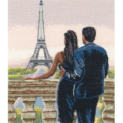 Maia  Big  City  Rendezvous  5678000-01211  Kit  broderie  point de croix  compté