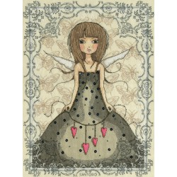 Bothy Threads  kit Mirabelle  Butterfly | Bothy Threads  XM2 | Broderie du monde