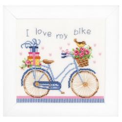 Vervaco  J'adore  mon  vélo  0021778