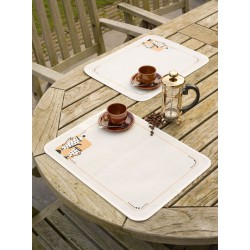 Vervaco  Sets  de  table  Thé  ou  café  0147512