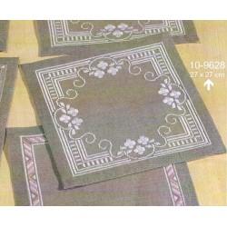 Permin  Napperon  Fleurs  blanches  10-9628
