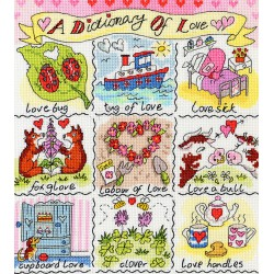 Dictionary  of  Love  XDO11  Bothy Threads