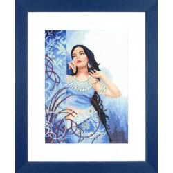 Lanarte  Beauté  en  bleu  0008135  Etamine