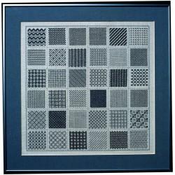 Permin,  Sampler  en  gris  39-1401