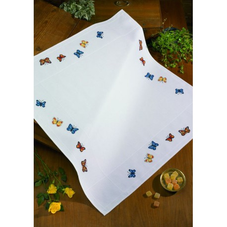 Permin  Nappe  Papillons  44-1366