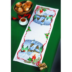 Permin  Chemin  de  table  Soir  de  Noël  68-4295