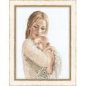 Riolis  kit Tenderness  Collection Premium  Riolis  100-033   Broderie du monde