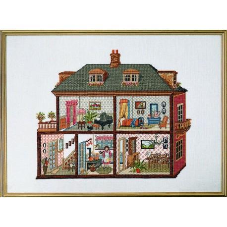 Permin maison de poup es 70 4149 boutique broderie du - Bon de reduction maison du monde ...