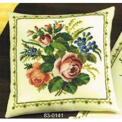 Permin  Coussin  Roses  83-0141