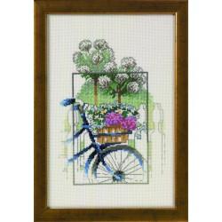 Permin  La  Bicyclette  Bleue  92-5326