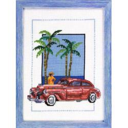 Permin  Cuba  car  Rouge  92-8127