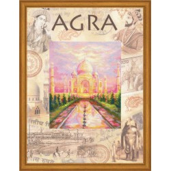 Riolis  kit Cities of the World, Agra | Riolis  PT0020 | Broderie du monde