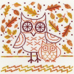 Bothy Threads  Autumn  Owl  XDJ1