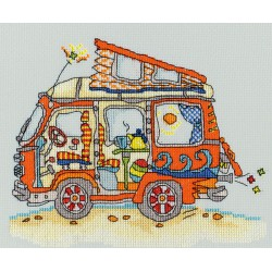 Bothy Threads  Sew  Dinky  VW  Van  XSD2
