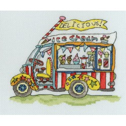 Bothy Threads  Sew  Dinky  Ice  Cream  Van  XSD3