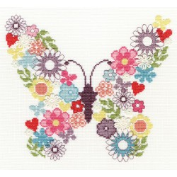 Bothy Threads  Butterfly  Bouquet  XB2