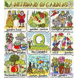 Dictionary  of  Gardens  XDO10  Bothy Threads