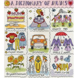 Dictionary  of  Mums  XDO13  Bothy Threads