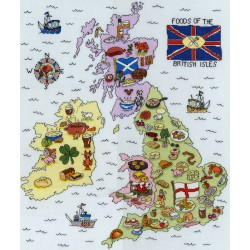 Food  Map  of  UK  XHS5  Bothy Threads