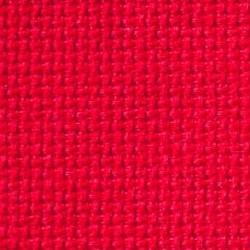 Toile  à  Broder  Aïda  7, 2 points/cm  coloris  Christmas  red  359/30