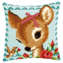Coussin  Bambi  avec  Nœud  0149899  Vervaco