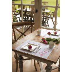 Sets  de  table  Fleurs  de  Bohème  0012913  Vervaco