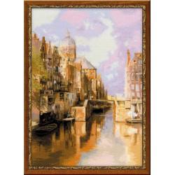 Riolis  kit Amsterdam, Audezeyts Forburgval | Riolis 1190 | Broderie du monde