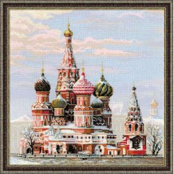 Riolis  kit Moscow, St. Basil's Cathedral | Riolis 1260 | Broderie du monde