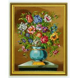 Vase  bleu  14-163  Eva Rosenstand
