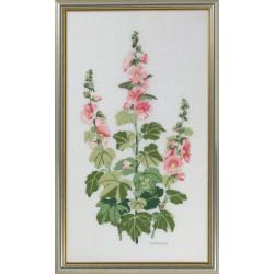 Roses  Tremières  14-468  Lin  Eva Rosenstand