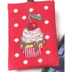 Etui  pour  Portable  Cupcake  19-1693  Permin