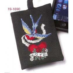 Etui  pour  Portable  Tattoo  19-1690  Permin