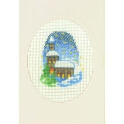Carte  et  Enveloppe  Eglise  17-1251  Permin