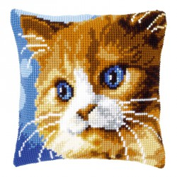 Coussin  Chat  brun  0149441  Vervaco