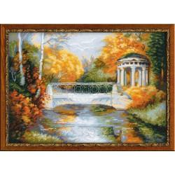 Riolis  kit Autumn Park   Riolis 1195   Broderie du monde