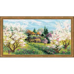 Riolis  kit Apple Orchard | Riolis 1275 | Broderie du monde