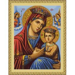 Icône  la  Vierge  et  l'Enfant  B428  Luca-S