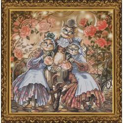 Nova Sloboda  kit Amicable Family  Nova Sloboda  CP 1144 | Broderie du monde