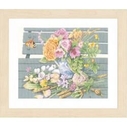 Lanarte  Fleurs  sur  un  banc  0146981  Marjolein Bastin  étamine
