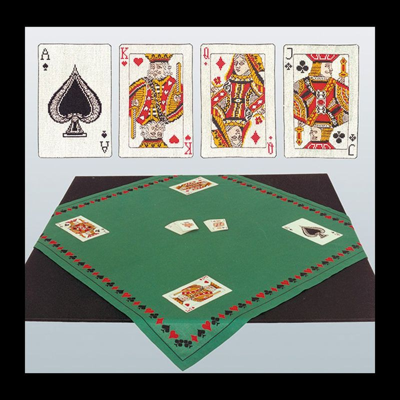 thea gouverneur kit tapis pour jeu de cartes 954 kit. Black Bedroom Furniture Sets. Home Design Ideas
