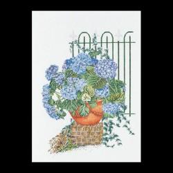 Hortensia  bleu 2035A  Aïda  Thea Gouverneur