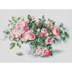 Bouquet  de  Roses  roses  B2286  Luca-S