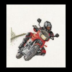 Motocycliste  3054A  Aïda  Thea Gouverneur