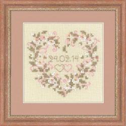 Riolis  kit From all Heart | Riolis 1405 | Broderie du monde
