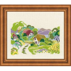 Riolis  kit Summer Day | Riolis 1192 | Broderie du monde
