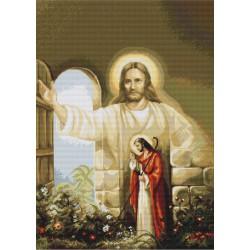 Jésus  frappant  à  la  porte  B411  Luca-S