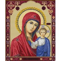 Icône  Notre  Dame  de  Kazan  B446  Luca-S