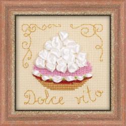 Riolis  kit Panier de gâteau | Riolis 1256 | Broderie du monde