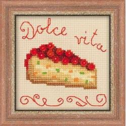 Riolis  kit Gâteau au baies | Riolis 1254 | Broderie du monde