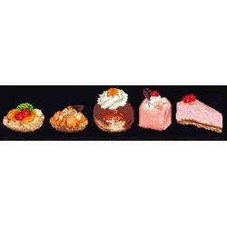 Assortiment  de  gâteau  3050.05  Aïda  noire  Thea Gouverneur